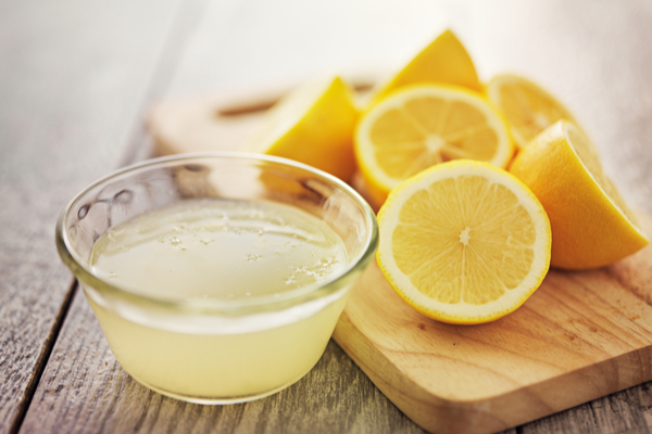 Lemon for Pimple marks