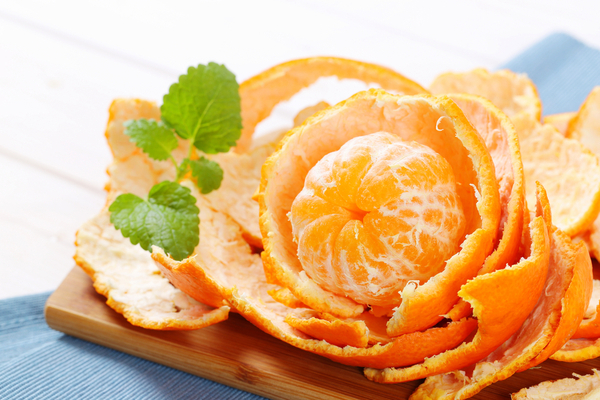 orange peel for pimple marks